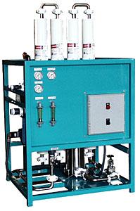 Modelo 4500 galones diarios para Agua Salobre